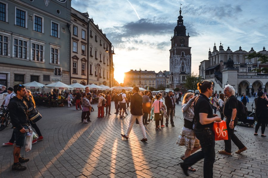 city break to krakow